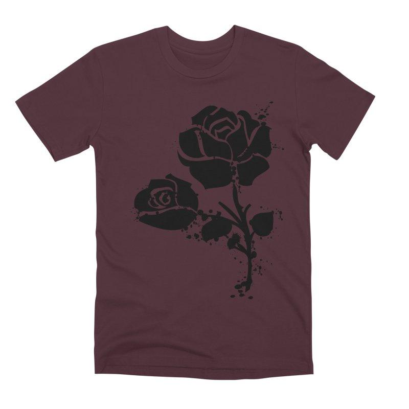 Black roses Men's Premium T-Shirt by cindyshim's Artist Shop