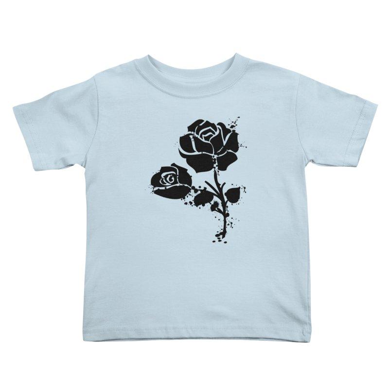 Black roses Kids Toddler T-Shirt by cindyshim's Artist Shop