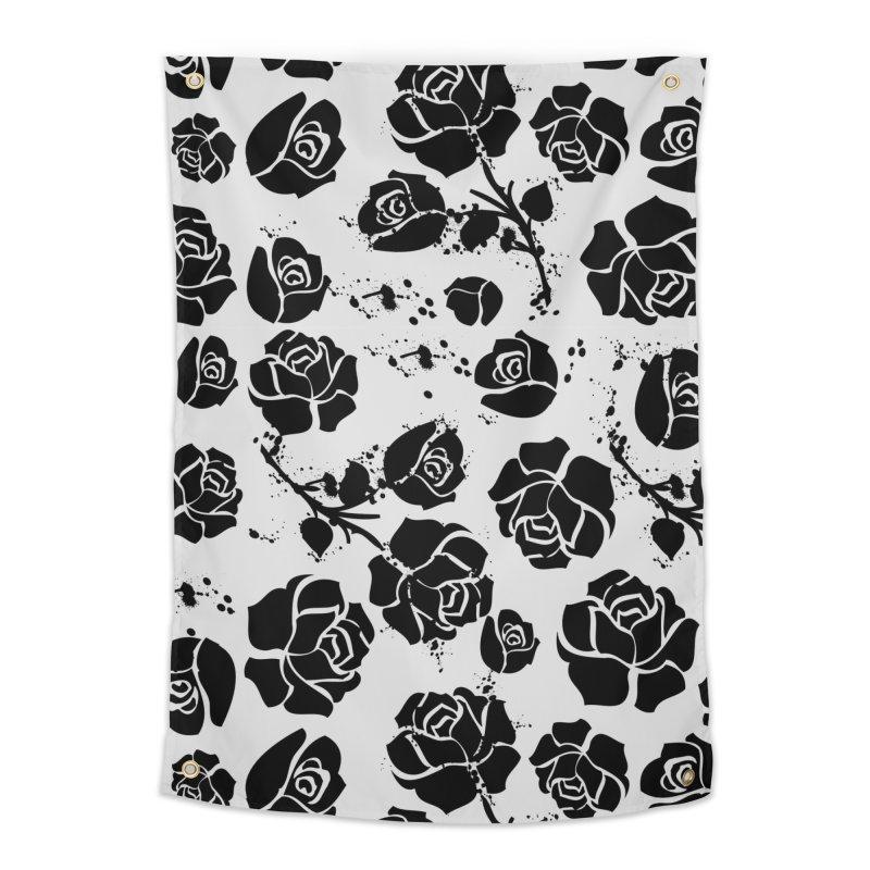 Black roses Home Tapestry by cindyshim's Artist Shop