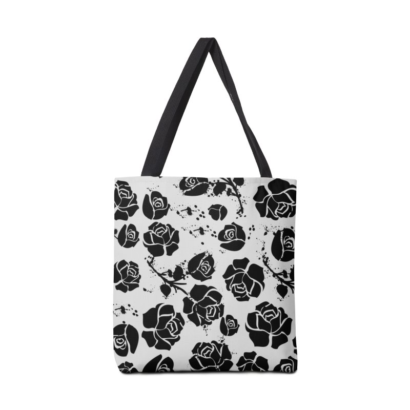 Black roses Accessories Tote Bag Bag by cindyshim's Artist Shop
