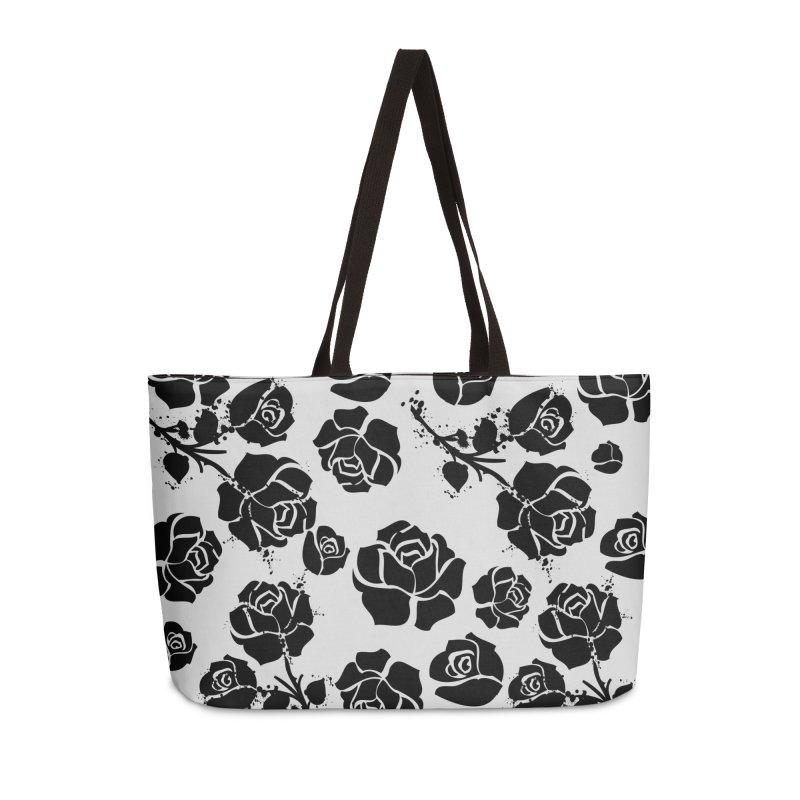 Black roses Accessories Weekender Bag Bag by cindyshim's Artist Shop