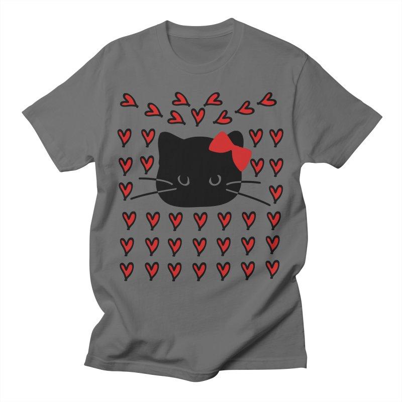 Love Love Cat Men's T-Shirt by cindyshim's Artist Shop