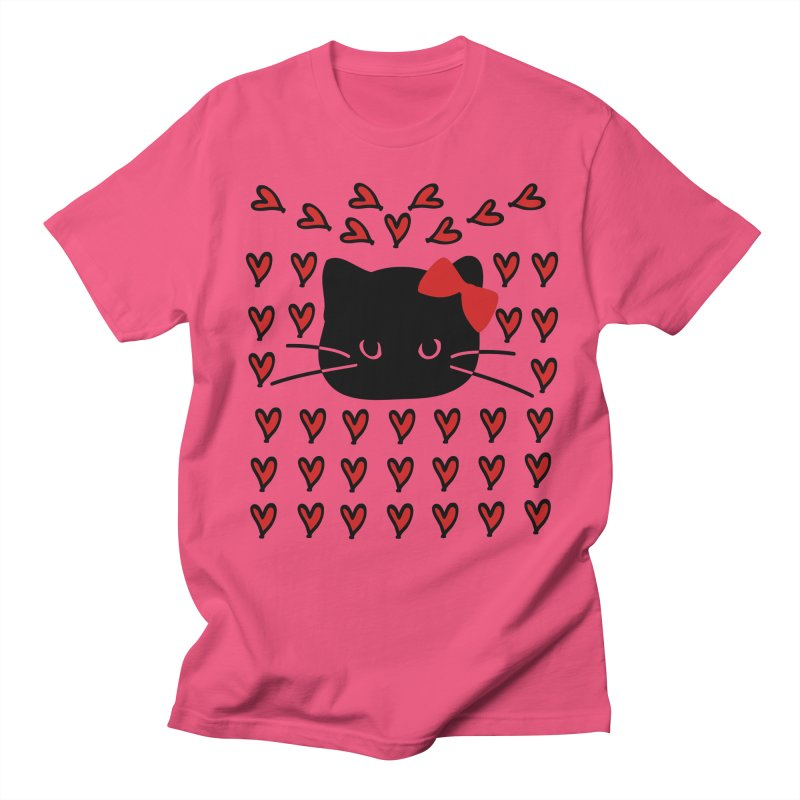 Love Love Cat Women's Regular Unisex T-Shirt by cindyshim's Artist Shop