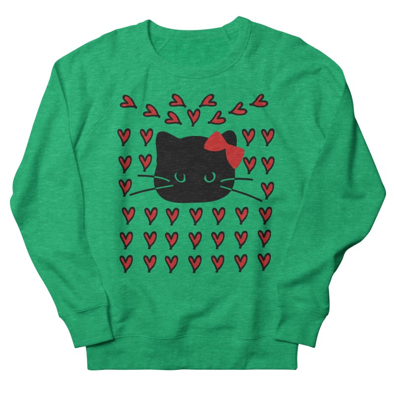 Love Love Cat Women's Sweatshirt by cindyshim's Artist Shop