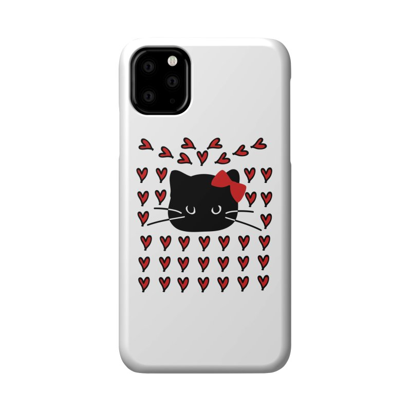 Love Love Cat Accessories Phone Case by cindyshim's Artist Shop