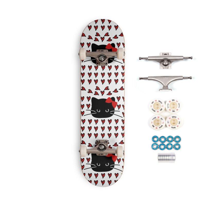 Love Love Cat Accessories Complete - Premium Skateboard by cindyshim's Artist Shop