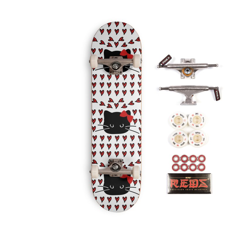Love Love Cat Accessories Complete - Pro Skateboard by cindyshim's Artist Shop
