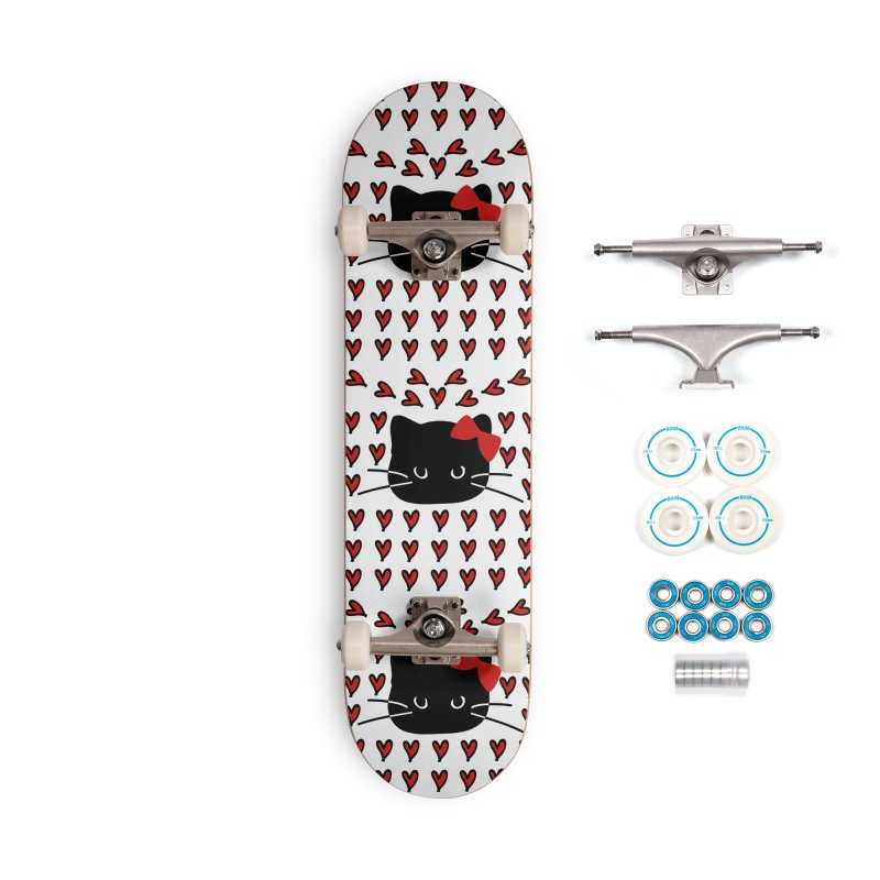 Love Love Cat Accessories Complete - Basic Skateboard by cindyshim's Artist Shop