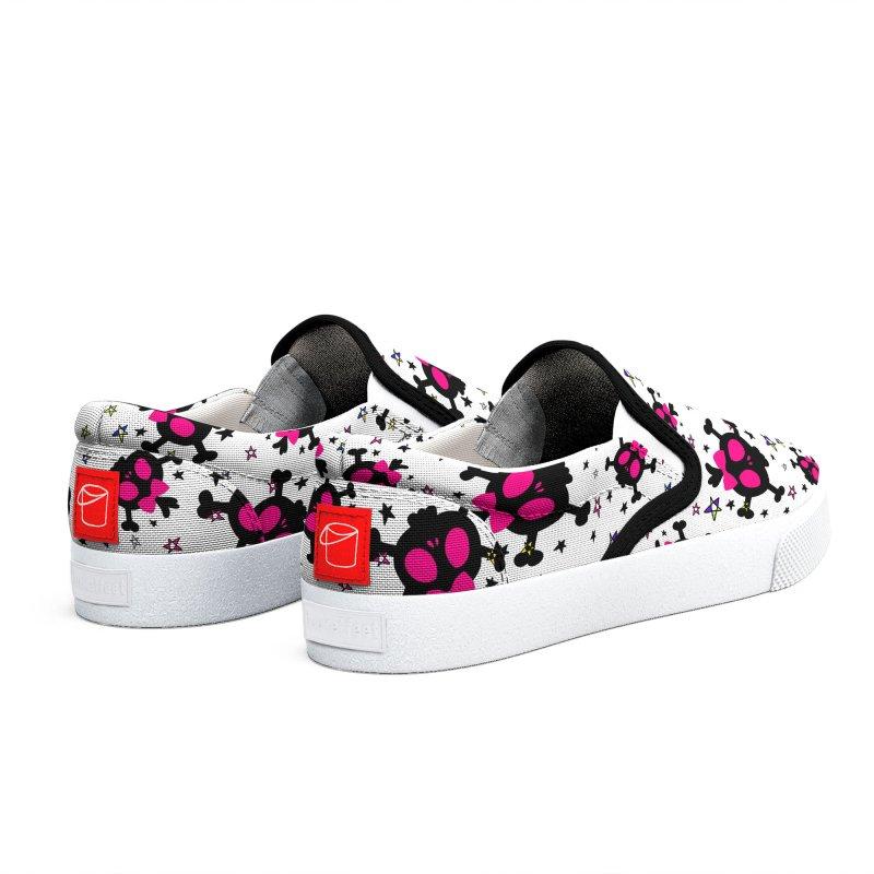 Cute skull Women's Shoes by cindyshim's Artist Shop