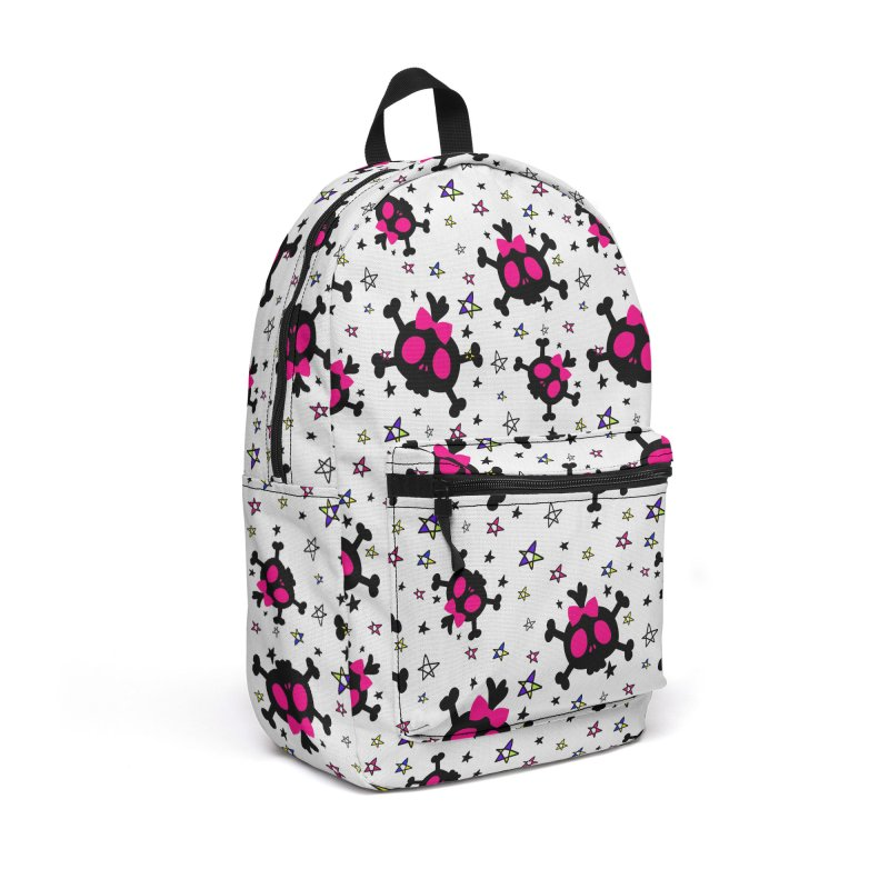 Cute skull Accessories Backpack Bag by cindyshim's Artist Shop
