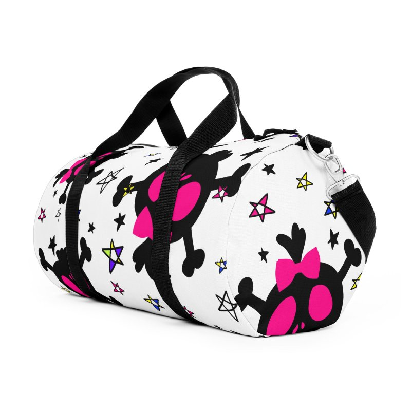 Cute skull Accessories Duffel Bag Bag by cindyshim's Artist Shop