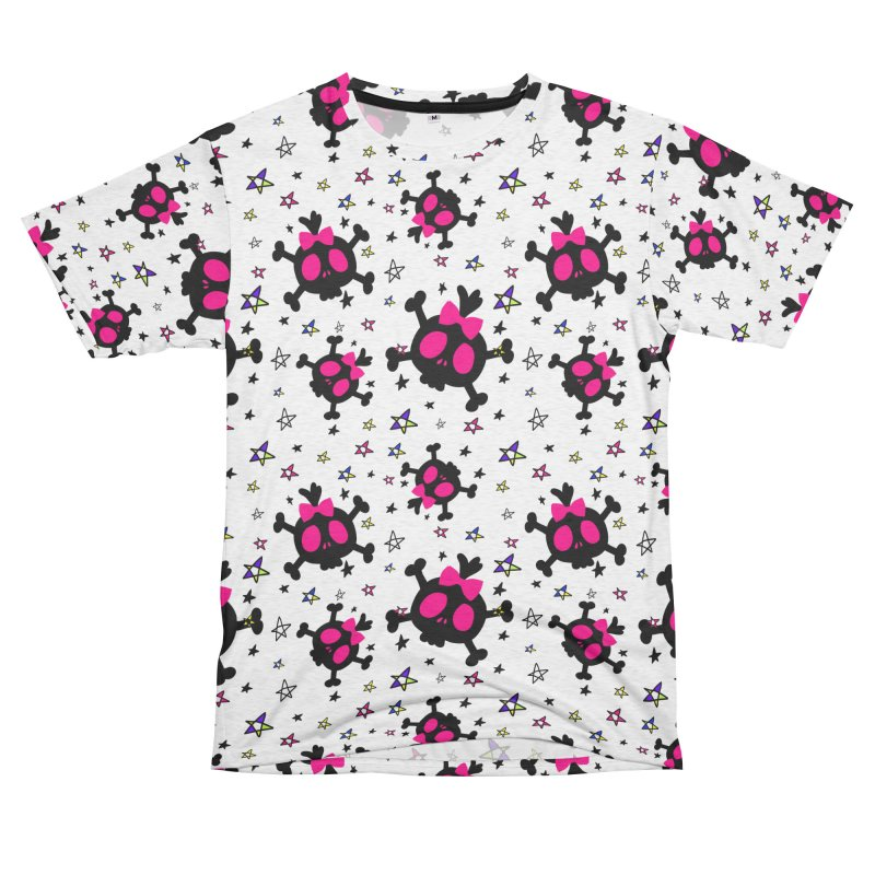 Cute skull Men's French Terry T-Shirt Cut & Sew by cindyshim's Artist Shop