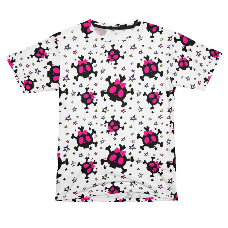 Cute skull Women's Unisex T-Shirt Cut & Sew by cindyshim's Artist Shop