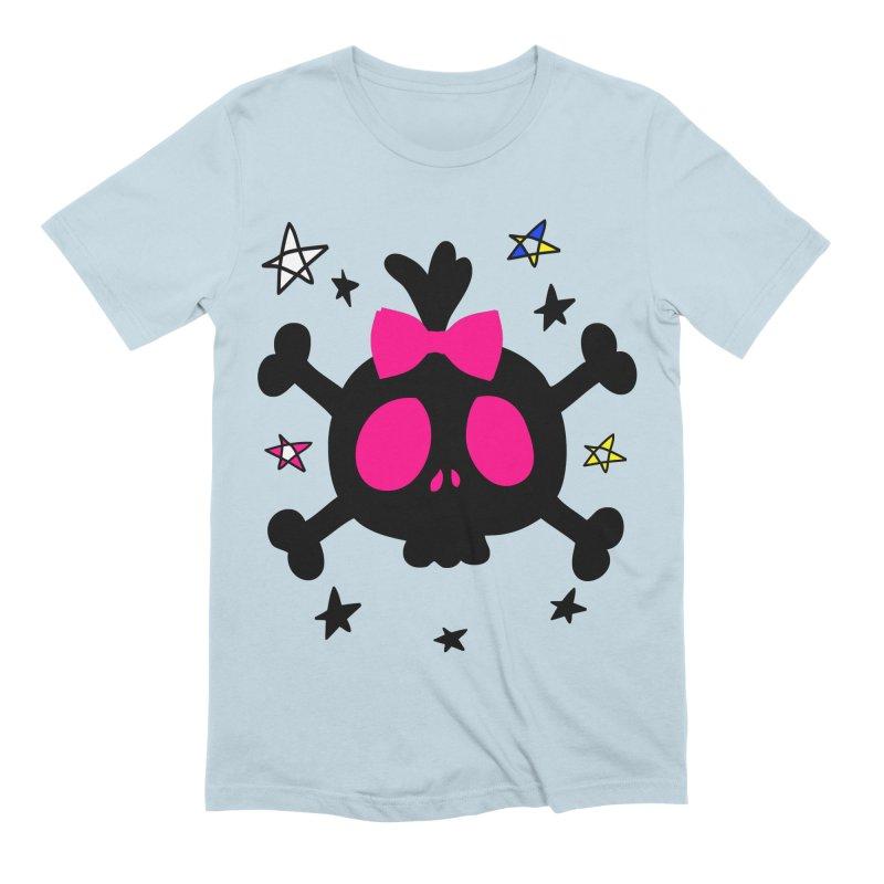 Cute skull Men's Extra Soft T-Shirt by cindyshim's Artist Shop