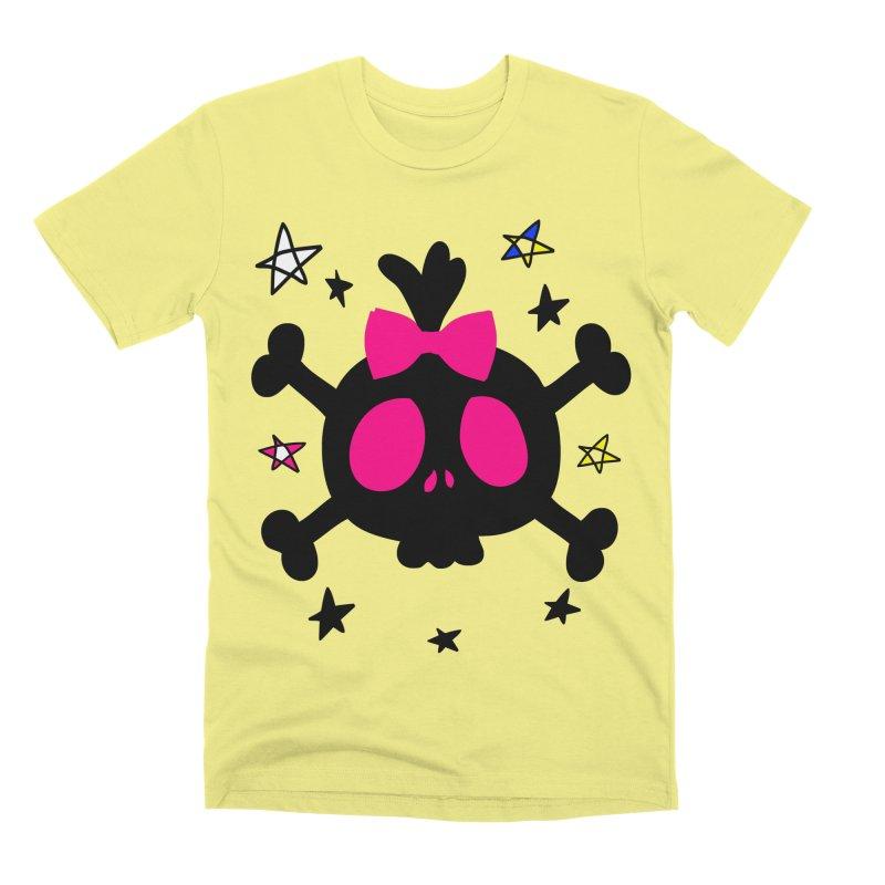 Cute skull Men's Premium T-Shirt by cindyshim's Artist Shop