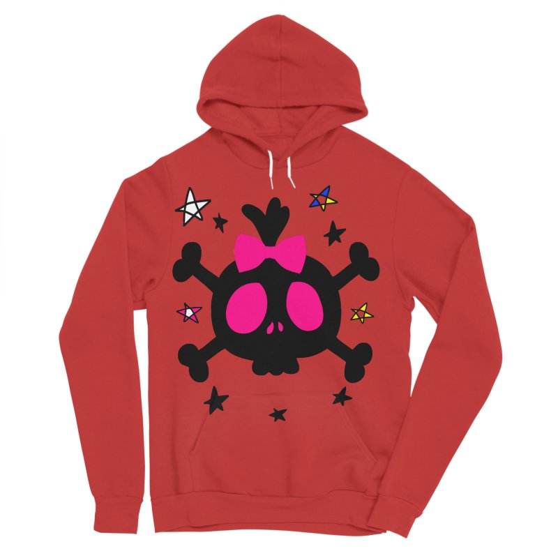 Cute skull Men's Sponge Fleece Pullover Hoody by cindyshim's Artist Shop