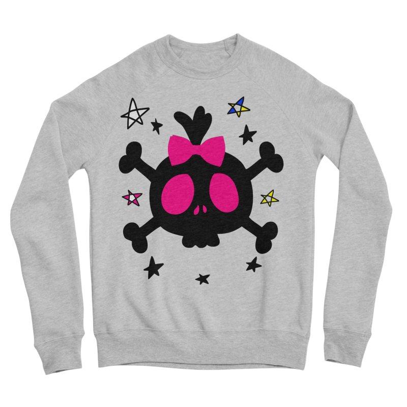 Cute skull Men's Sponge Fleece Sweatshirt by cindyshim's Artist Shop