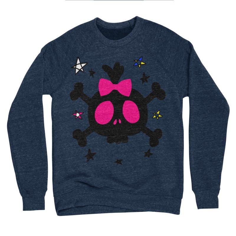 Cute skull Women's Sponge Fleece Sweatshirt by cindyshim's Artist Shop