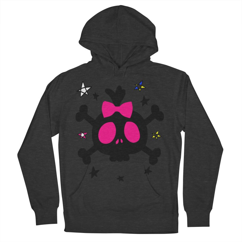 Cute skull Women's French Terry Pullover Hoody by cindyshim's Artist Shop