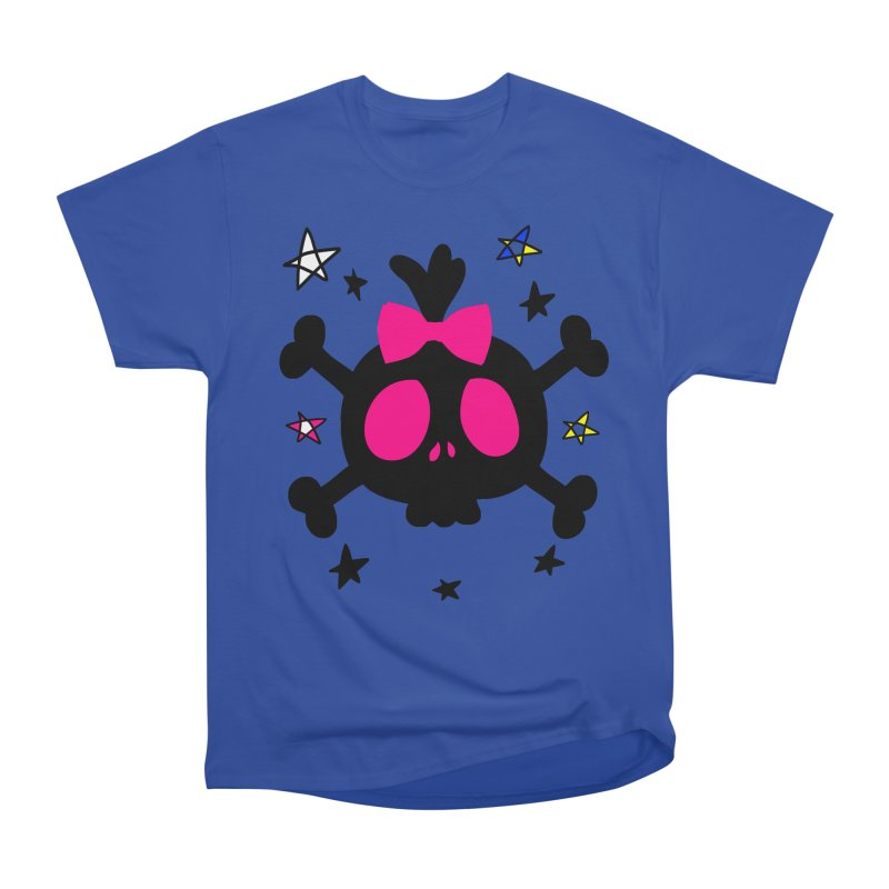 Cute skull Women's Heavyweight Unisex T-Shirt by cindyshim's Artist Shop