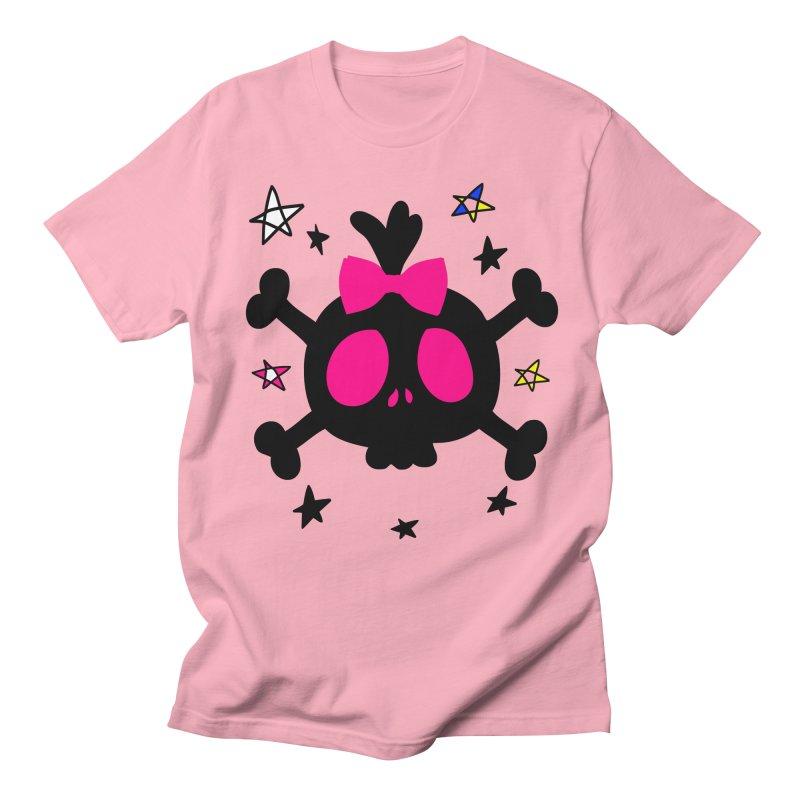 Cute skull Women's Regular Unisex T-Shirt by cindyshim's Artist Shop
