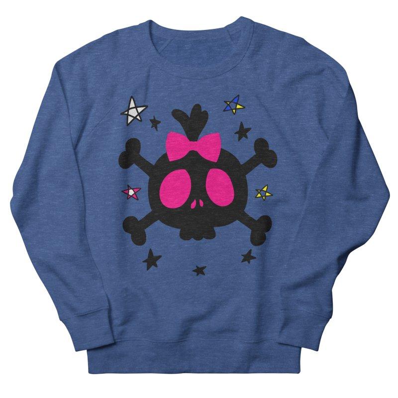 Cute skull Men's French Terry Sweatshirt by cindyshim's Artist Shop