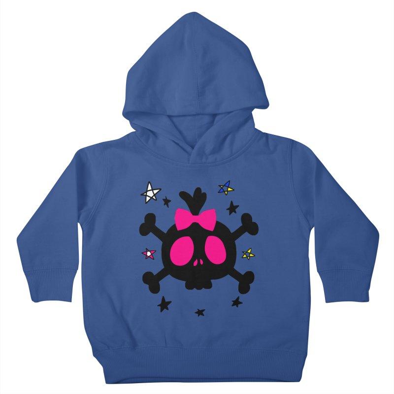 Cute skull Kids Toddler Pullover Hoody by cindyshim's Artist Shop