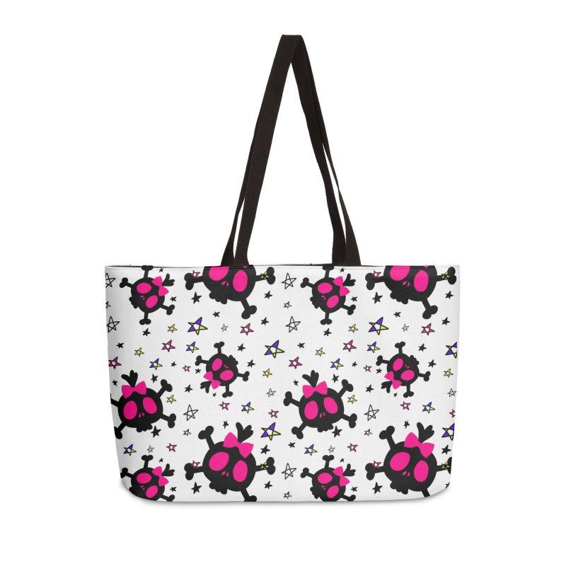 Cute skull Accessories Weekender Bag Bag by cindyshim's Artist Shop