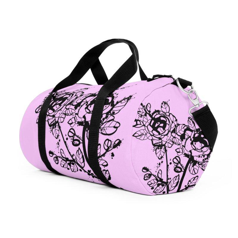The roses Accessories Duffel Bag Bag by cindyshim's Artist Shop