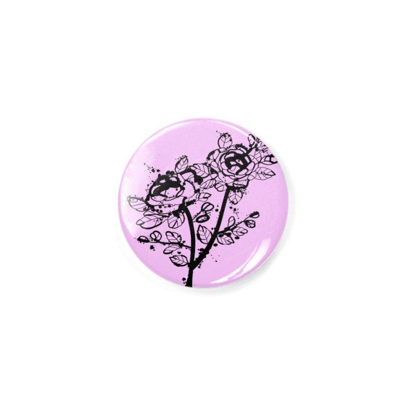 The roses Accessories Button by cindyshim's Artist Shop
