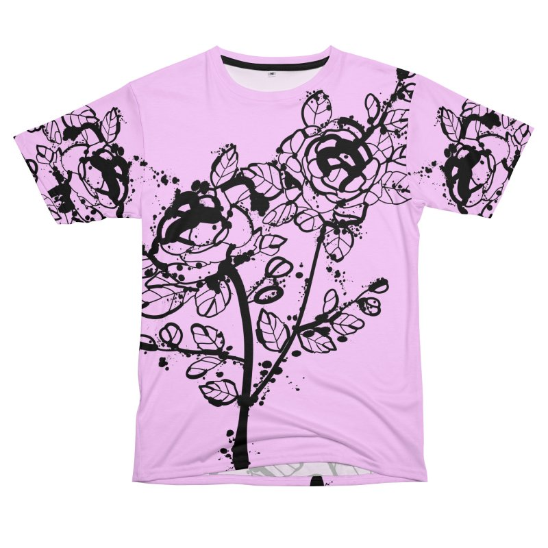 The roses Women's Unisex T-Shirt Cut & Sew by cindyshim's Artist Shop