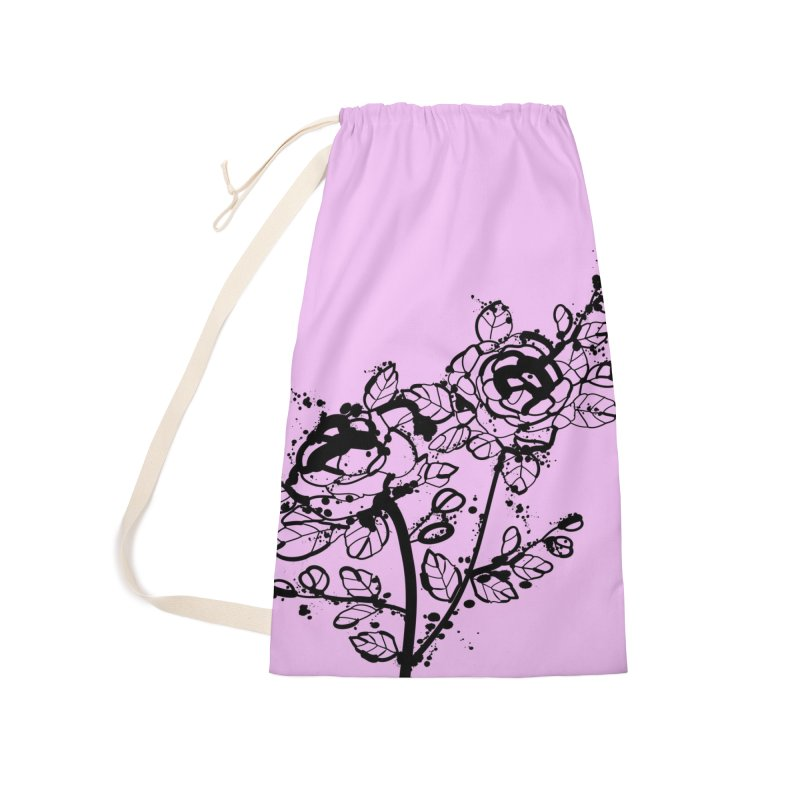 The roses Accessories Laundry Bag Bag by cindyshim's Artist Shop