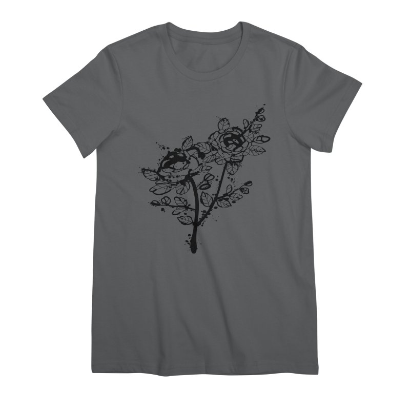 The roses Women's Premium T-Shirt by cindyshim's Artist Shop