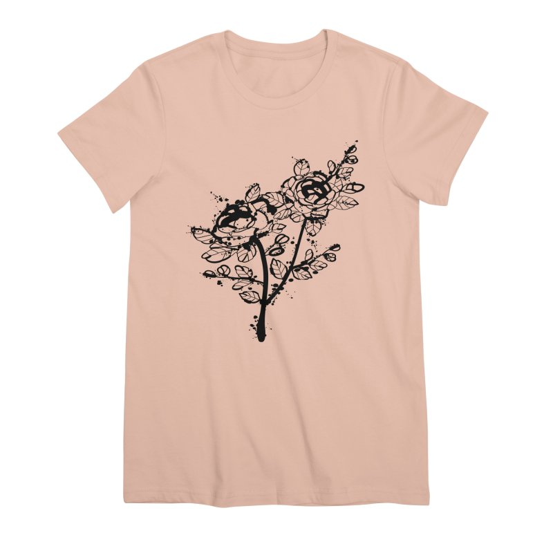 The roses Women's Premium T-Shirt by cindyshim's Artist Shop