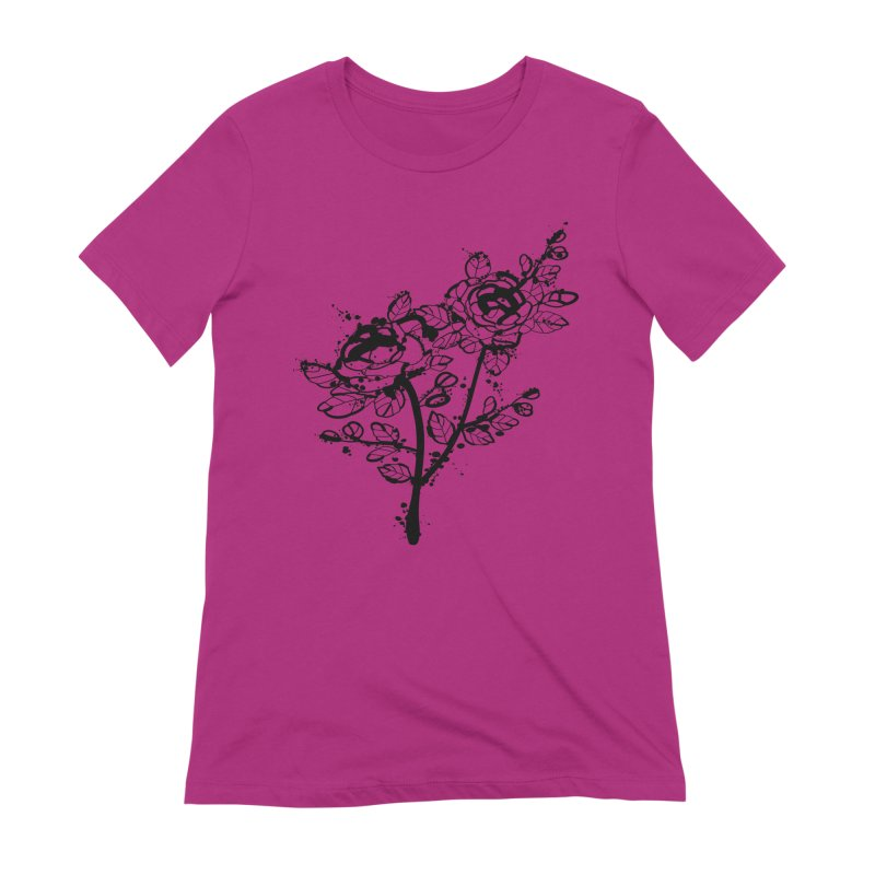 The roses Women's Extra Soft T-Shirt by cindyshim's Artist Shop