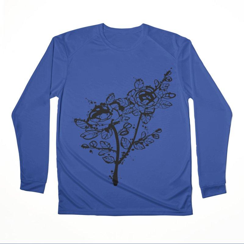 The roses Men's Performance Longsleeve T-Shirt by cindyshim's Artist Shop