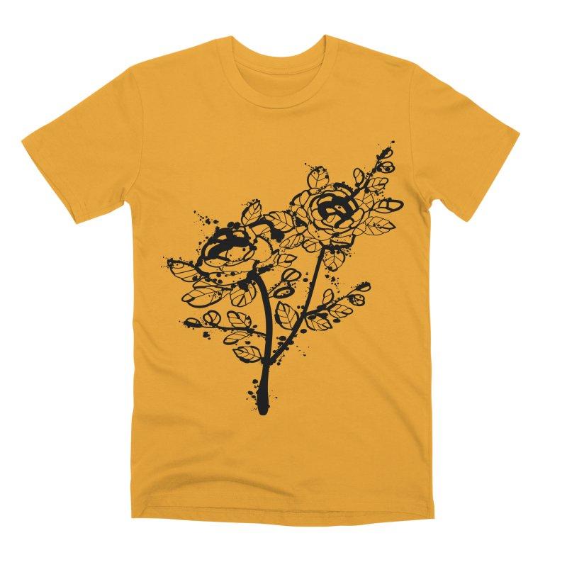 The roses Men's Premium T-Shirt by cindyshim's Artist Shop