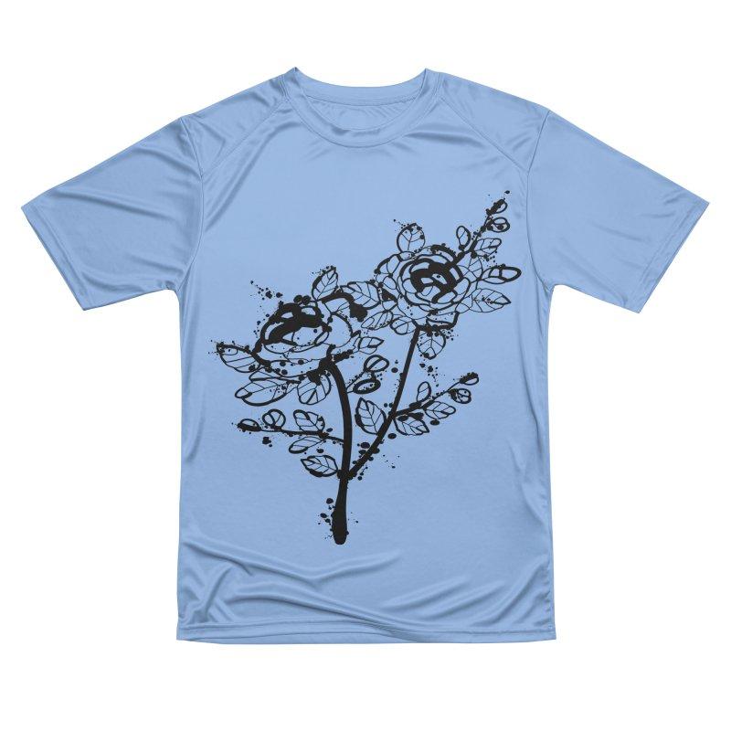 The roses Women's Performance Unisex T-Shirt by cindyshim's Artist Shop