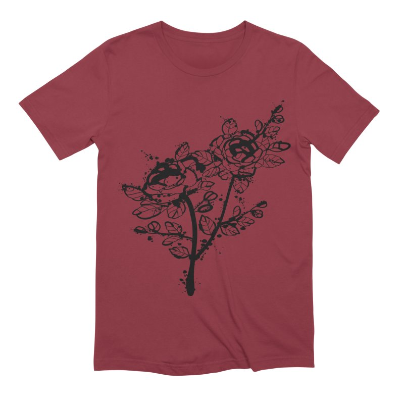 The roses Men's Extra Soft T-Shirt by cindyshim's Artist Shop