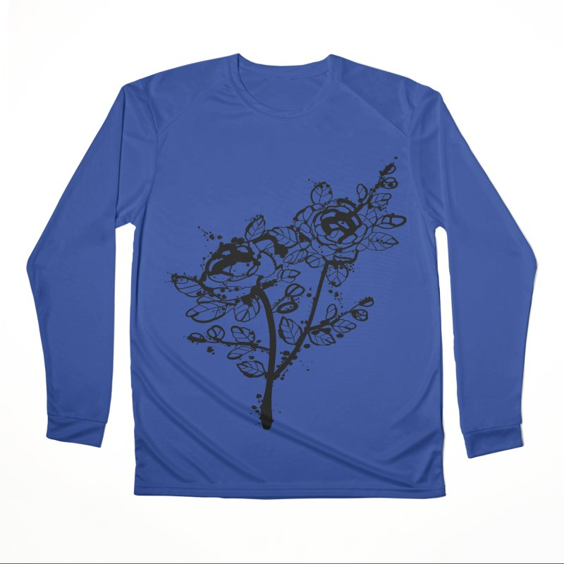 The roses Women's Performance Unisex Longsleeve T-Shirt by cindyshim's Artist Shop