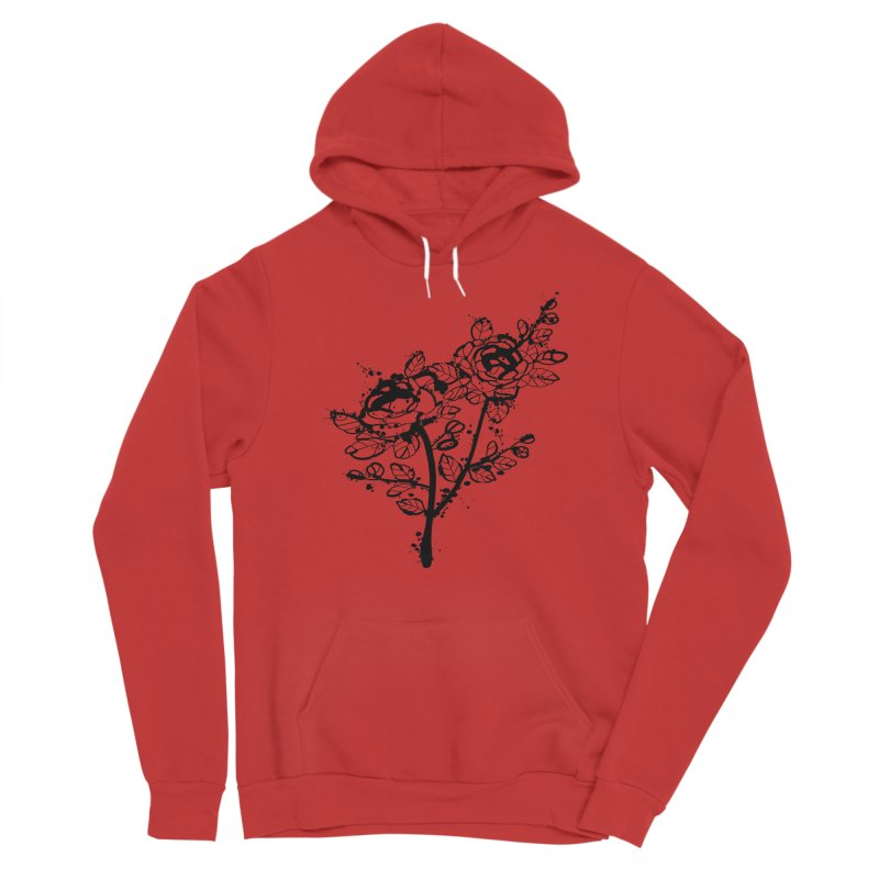 The roses Women's Pullover Hoody by cindyshim's Artist Shop
