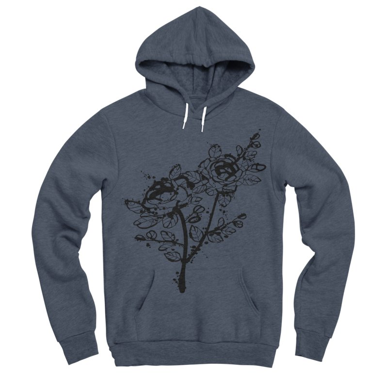 The roses Men's Sponge Fleece Pullover Hoody by cindyshim's Artist Shop