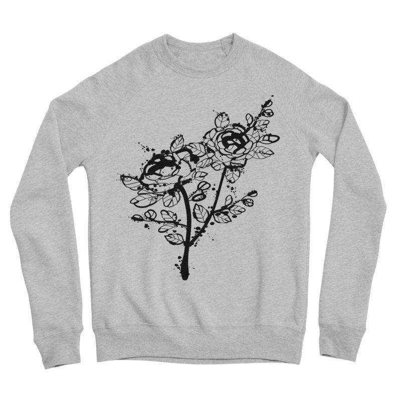 The roses Women's Sponge Fleece Sweatshirt by cindyshim's Artist Shop