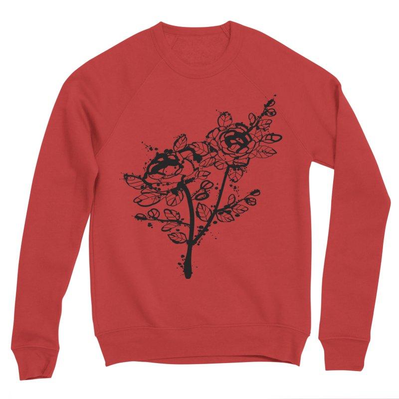 The roses Men's Sponge Fleece Sweatshirt by cindyshim's Artist Shop