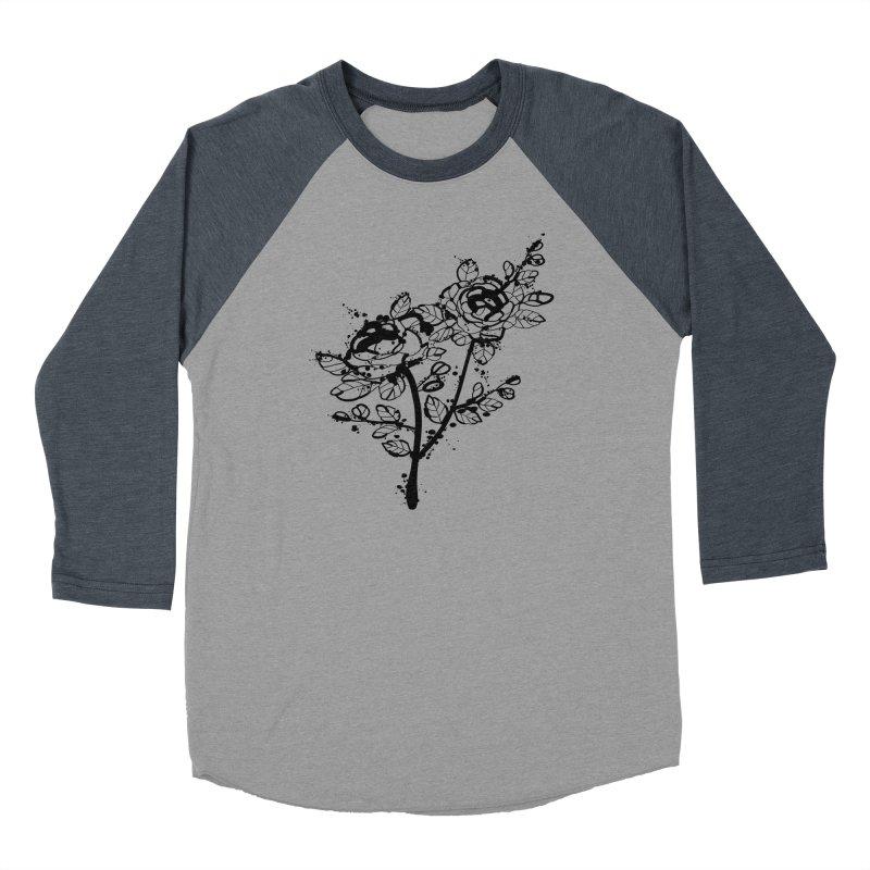 The roses Women's Baseball Triblend Longsleeve T-Shirt by cindyshim's Artist Shop