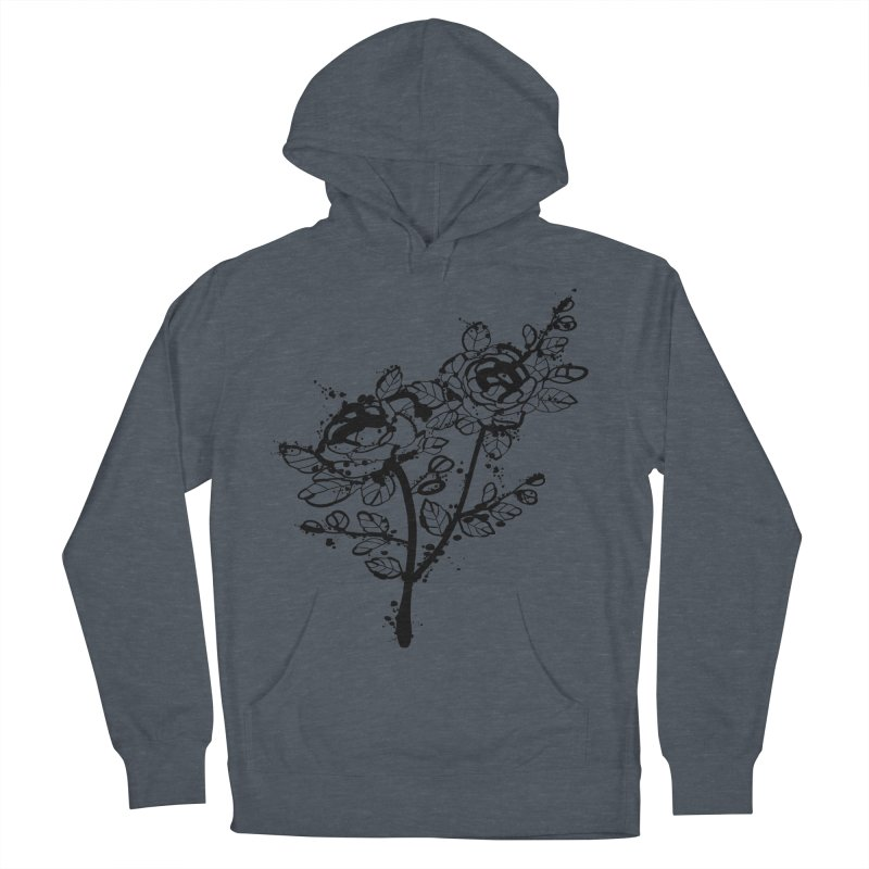 The roses Men's French Terry Pullover Hoody by cindyshim's Artist Shop