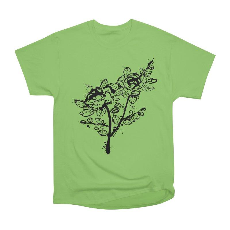 The roses Women's Heavyweight Unisex T-Shirt by cindyshim's Artist Shop