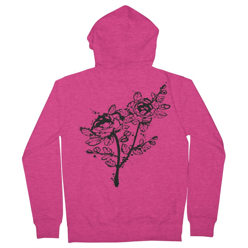 The roses Women's French Terry Zip-Up Hoody by cindyshim's Artist Shop