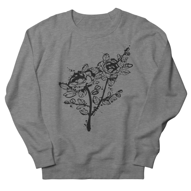 The roses Women's French Terry Sweatshirt by cindyshim's Artist Shop