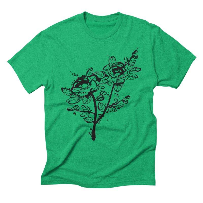 The roses Men's Triblend T-Shirt by cindyshim's Artist Shop